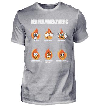 Feuerwehr Feuerwehrmann Flammenzwerg