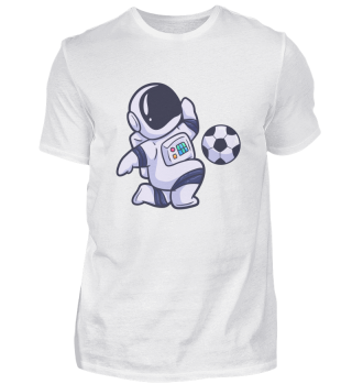 Astronaut Football Fun Sport Space