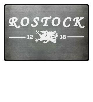 Rostock - Greif - Fußmatte