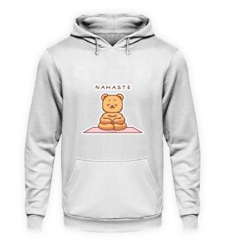 Teddy Meditation Yoga Grizzly stuffed an