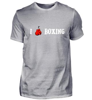 I love boxing boxer boxing gift idea