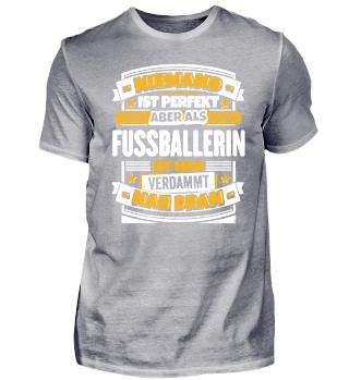 Geschenk Fussballerin