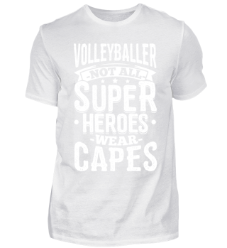 Funny Volleyball Shirt Not All