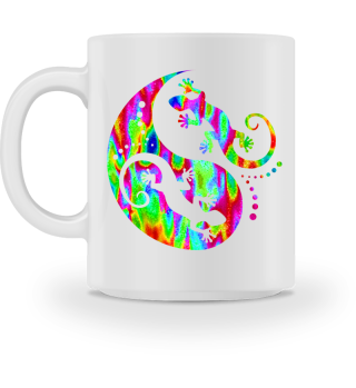 ♥ Yin Yang Geckos - Free Colored MUG