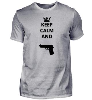 geschenk keep calm and POLIZIST