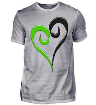 Herz grün 2