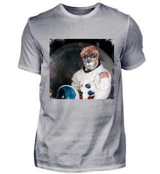 LLAMA Alpaca - SPACE LLAMA Astronaut Gift Shirt