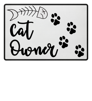 ANIMAL CAT HOME LOVE PRESENT GIFT MAT