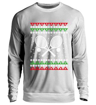 EN Tennis Ugly Christmas Sweater
