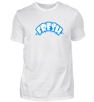 FRESH - Graffiti Style blau