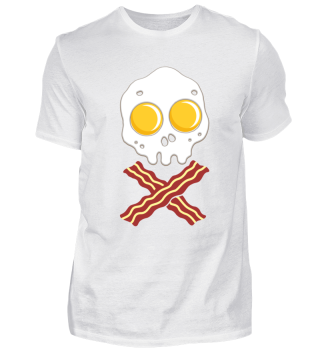 Bacon And Eggs - Pirate Skull Breakfast