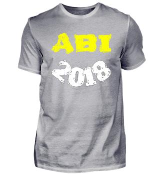 ABITUR 2018 - Abschluss Shirt