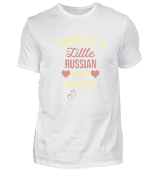 Pregnant little Russian Baby oven Gift