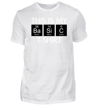 ★ Periodic Elements - BASIC T-Shirt II