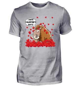 Valentinstag I hate Mammut Liebe Shirt