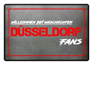 Fußmatte Düsseldorf Waschechte Fans