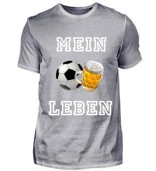 Fußball und Bier: Mein Leben!