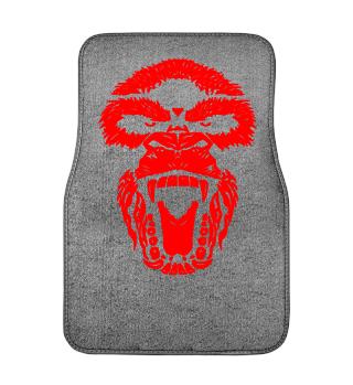Automatten Gorilla Face Aggro red