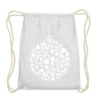 ★ Icons Christmas Tree Ball - white