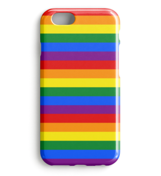 Gay Pride Rainbow Flag Stripes I