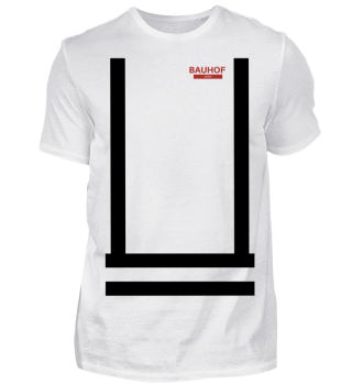 Bauhof Weber Shirt (Schwarze Streifen)