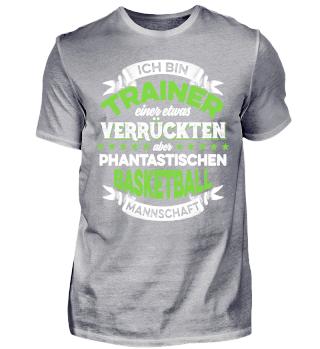 TRAINER EINER BASKETBALL MANNSCHAFT