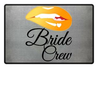 Bride Crew Sexy Lips