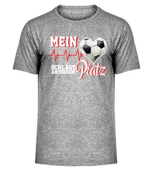 Fußball Herz Sportplatz