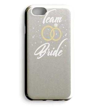 JGA TEAM BRIDE Hochzeitsringe Braut