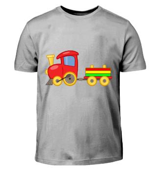 Lokomotive Kinder Baby Comic shirt