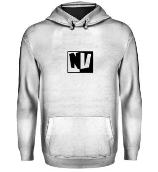 NeruxVace Hoodie Logo schwarz