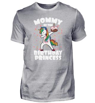 Einhorn Mutter Vom Geburtstagsgkind