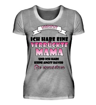 Verrückte Mama   Beste Mutter Muttertag Geburtstag Geschenk