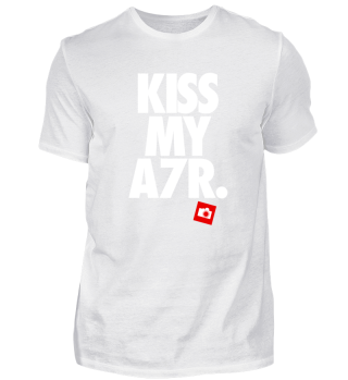 Kiss My A7R Photography Shirt