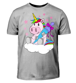 Unicorn - Unicorn Schoolchild Shirt