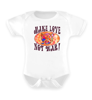 Make Love Not War - Peace Dove Symbol 1