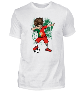 Portugal Soccer Football Boy Dab