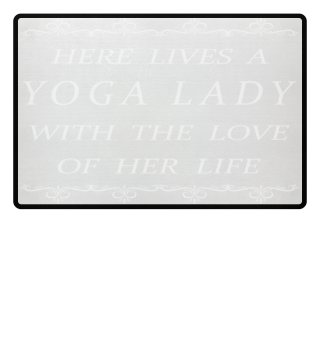 Yoga Lady Doormat