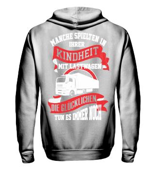LKW-Fahrer Lastwagen spielen