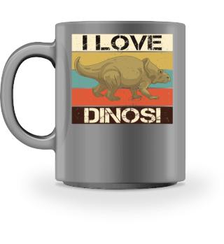 Streifen & Dinosaurier I LOVE DINOS III