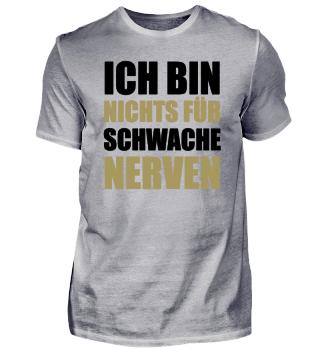 ☛ ICH BIN NICHTS FÜR SCHWACHE NERVeN #2SG