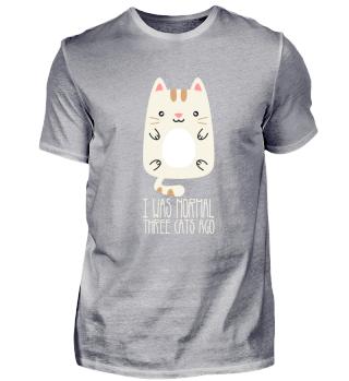 A Funny Cat Shirt
