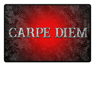 CARPE DIEM - Halftone Star red