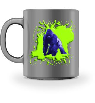 Gorilla Blau und Grün - Accessoires