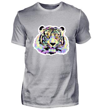Tiger bunt pastell Farben