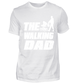 the walking dad vater t shirt vatertag