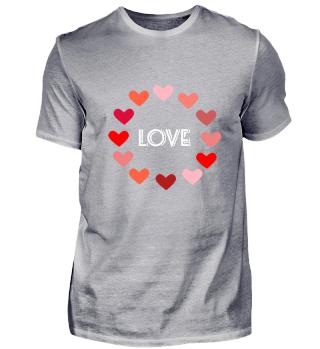 HERZEN LOVE LIEBE KREIS