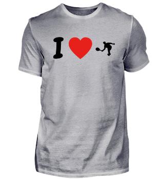 Ich liebe tennis tennisplatz player geschenk geburtstag liebe