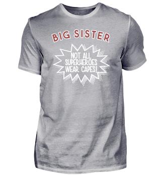 Superhero Capes Big Sister