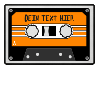 MIXTAPE orange - DEIN TEXT 1